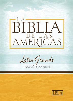 Hand Size Giant Print Bible-Lbla Cover Image