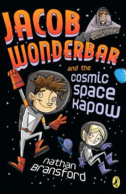 Jacob Wonderbar and the Cosmic Space Kapow Cover
