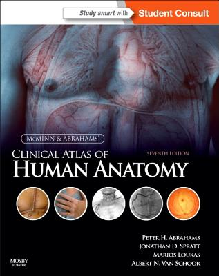 McMinn and Abrahams' Clinical Atlas of Human Anatomy Cover Image