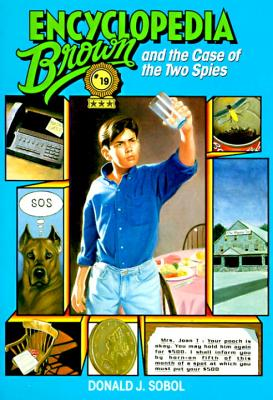Encyclopedia Brown and the Case of the Two Spies Cover