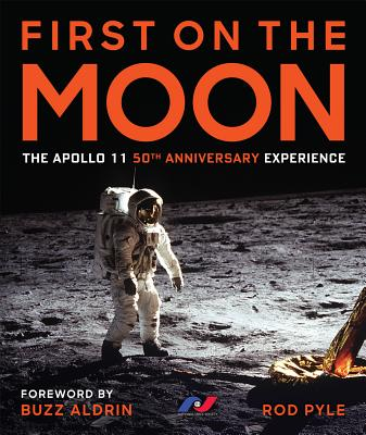 Cover for First on the Moon