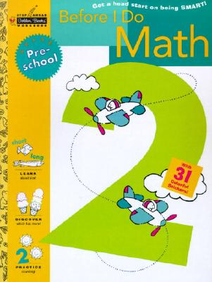Before I Do Math (Preschool) (Step Ahead) Cover Image