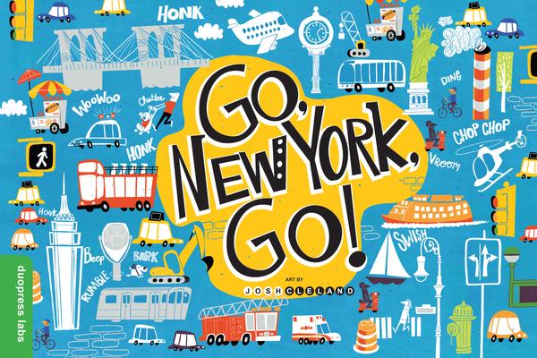 Cover for Go, New York, Go!
