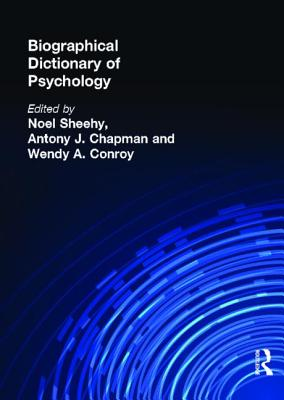 Biographical Dictionary of Psychology Cover Image