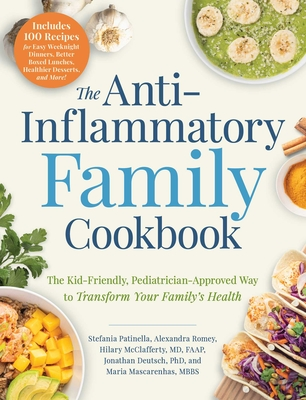 Cover for The Anti-Inflammatory Family Cookbook