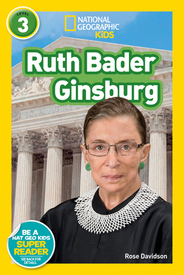National Geographic Readers: Ruth Bader Ginsburg (L3) Cover Image