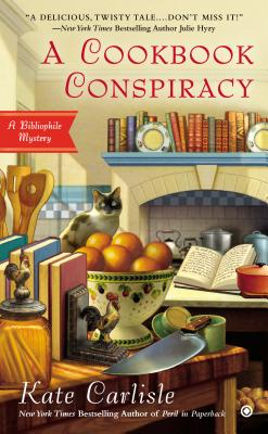A Cookbook Conspiracy (Bibliophile Mystery #7) Cover Image
