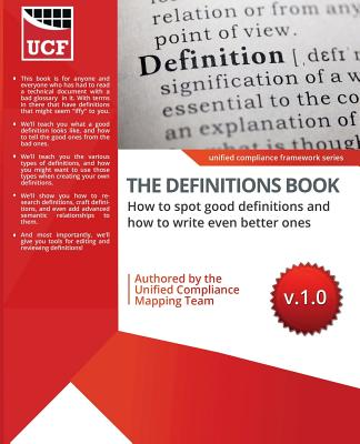 The Definitions Book: How to Spot Good Ones, and How to Write Even Better Ones! Cover Image