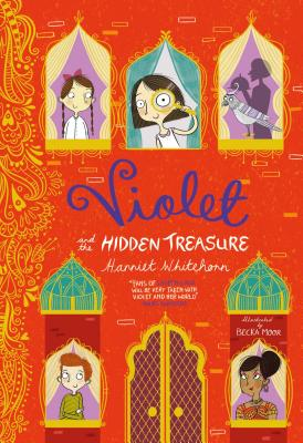 Violet and the Hidden Treasure Cover Image