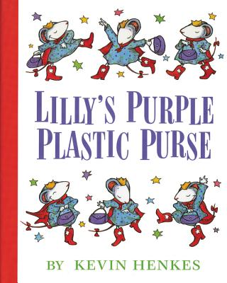 Lilly's Purple Plastic Purse Cover