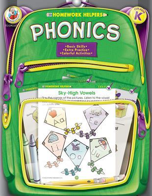 Phonics, Grade K (Brighter Child: Homework Helpers) Cover Image