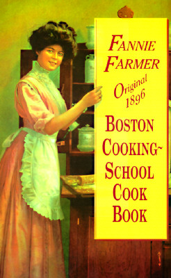 Cover for Original 1896 Boston Cooking-School Cook Book