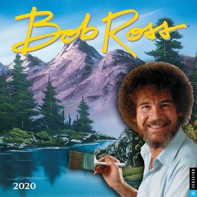Bob Ross 2020 Wall Calendar Cover Image