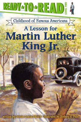 A Lesson for Martin Luther King Jr. Cover