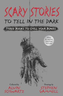 Scary Stories to Tell in the Dark: Three Books to Chill Your Bones: All 3 Scary Stories Books with the Original Art! Cover Image