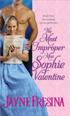 The Most Improper Miss Sophie Valentine Cover