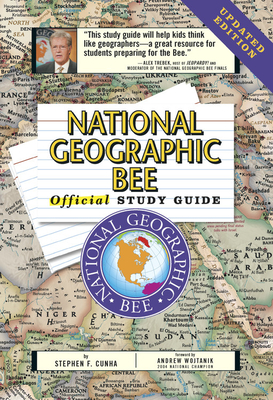 National Geographic Bee Official Study Guide Updated Edition Cover Image