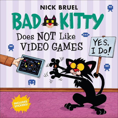 Bad Kitty Does Not Like Video Games Cover Image