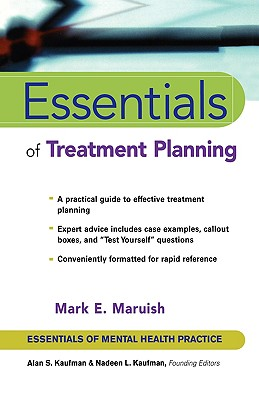 Essentials of Treatment Planning (Essentials of Mental Health Practice #27) Cover Image