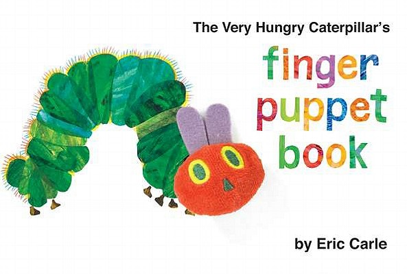 The Very Hungry Caterpillar's Finger Puppet Book (The World of Eric Carle) Cover Image