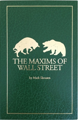 The Maxims of Wall Street Cover Image