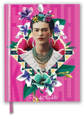 Frida Kahlo Pink (Blank Sketch Book) (Luxury Sketch Books) Cover Image