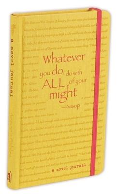 A Novel Journal: Aesop's Fables (Compact) (Novel Journals) Cover Image