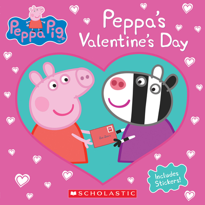 Peppa's Valentine's Day (Peppa Pig) Cover Image