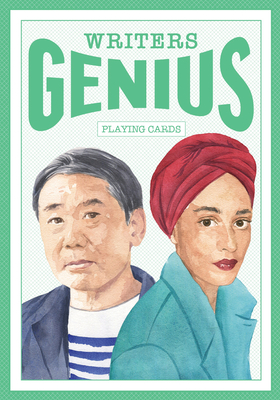 Genius Writers (Genius Playing Cards) Cover Image