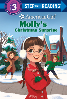 Cover for Molly's Christmas Surprise (American Girl) (Step into Reading)