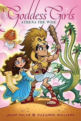 Cover for Athena the Wise (Goddess Girls #5)