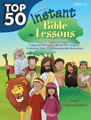 Top 50 Instant Bible Lessons for Preschoolers Cover Image