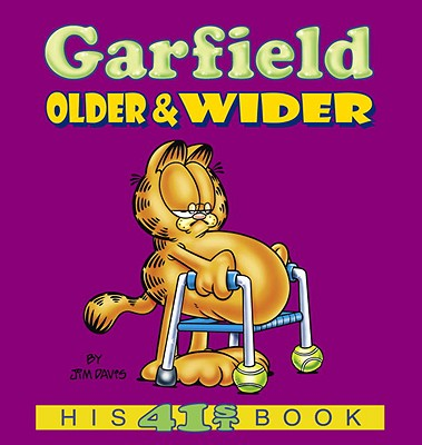 Garfield Older & Wider Cover Image