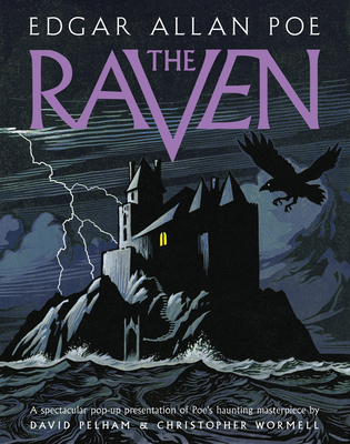 Raven: A Pop-up Book Cover Image