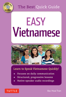Easy Vietnamese: Learn to Speak Vietnamese Quickly! [With CDROM] Cover Image