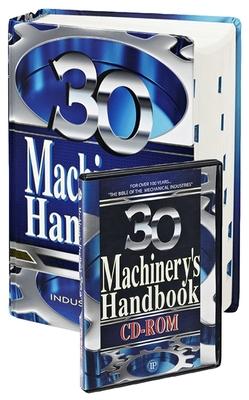 Machinery's Handbook, Large Print & CD-ROM Set, Volume 1 [With CD-ROM] (Machinery's Handbook (Large Print W/CD)) Cover Image