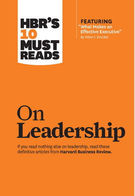 HBR's 10 Must Reads on Leadership cover image