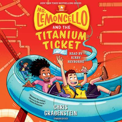 Mr. Lemoncello and the Titanium Ticket (Mr. Lemoncello's Library) cover