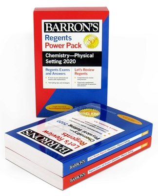 Regents Chemistry--Physical Setting Power Pack 2020 (Barron's Regents NY) Cover Image
