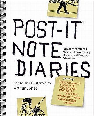 Post-It Note Diaries Cover