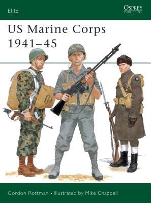 US Marine Corps 1941–45 (Elite) Cover Image
