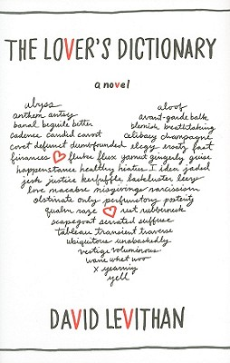 The Lover's Dictionary Cover Image