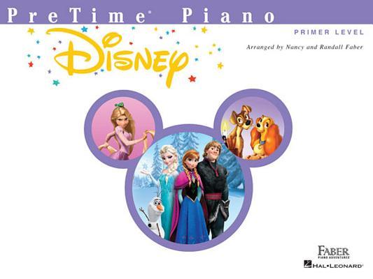Pretime Piano Disney: Primer Level Cover Image