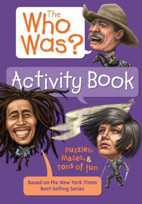 The Who Was? Activity Book Cover Image