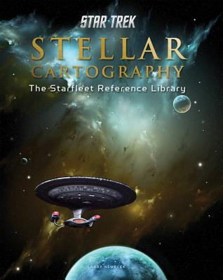 The Starfleet Reference Library: Stellar Cartography Deluxe Hardcover Cover Image