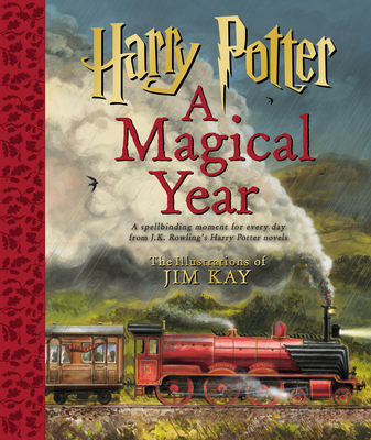 Harry Potter: A Magical Year – The Illustrations of Jim Kay Cover Image