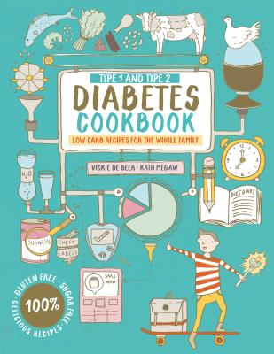 Type 1 and Type 2 Diabetes Cookbook: Low Carb Recipes for the Whole Family Cover Image