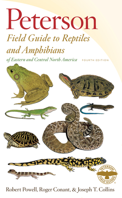 Peterson Field Guide to Reptiles and Amphibians of Eastern and Central North America, Fourth Edition (Peterson Field Guides) Cover Image