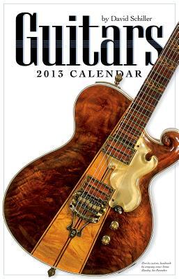 Guitars 2013 Wall Calendar Cover Image