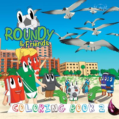 Roundy & Friends Coloring Book 2 Cover Image